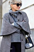 Zara Wool Blend Cape Coats & Jackets for Women