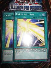 YU-GI-OH! COM CARTE DE L'ÂME PLAYSET (LOT DE 2) TDIL-FR068 FRANCAIS EDITION1