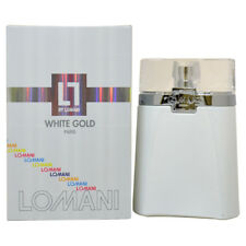 White Gold by Lomani for Men - 3.3 oz EDT Spray