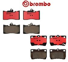 For Lexus GS350 GS430 GS450h Front+Rear Brake Pad Sets Brake Kit Brembo OEM