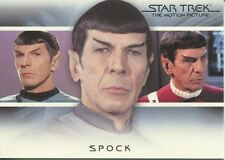 Star Trek Quotable Movies Bridge Crew Transition Chase Card T2 Spock
