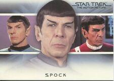 Star Trek Quotable Movies Bridge Crew Transition Chase Card T2 Spock