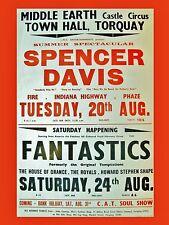 "Spencer Davis Group Torquay 16"" x 12"" Photo Repro Concert Poster"