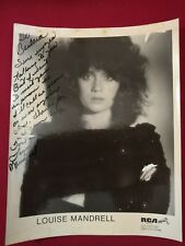 Louise Mandrell REAL hand SIGNED 8x10 Photo Autographed Country