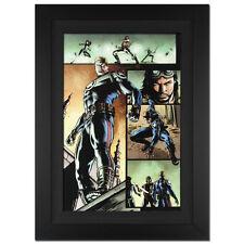 STAN LEE signed HULK # 43 Marvel ORIGINAL COMIC Art CANVAS CAPTAIN AMERICA fr.