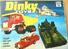 Dinky Toys 1973 Catalogue No.9  includes 1st Printing price list