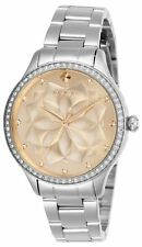 Invicta Women's Wildflower 28053 35mm Rose Gold Dial Stainless Steel Watch