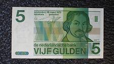 NETHERLANDS 5 Gulden 1973 EF Vondel p-95