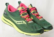 Saucony Grid Profile 15123-4 Green Pink Athletic Running Shoes Women's US 9