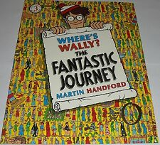 WHERE'S WALLY? THE FANTASTIC JOURNEY BOOK VOL 3 (LARGE BOOK) (30CM X 25CM) NEW