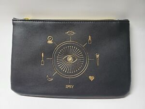 IPSY October 2020 Glam Bag  Black You're Magic Makeup Cosmetic Case BAG ONLY