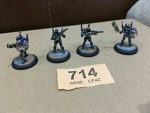 Pro Painted Androsynths Pulse Rifles Scotia Grendal 28mm Wargames Miniatures RPG