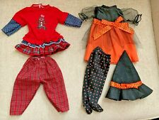 """LKNEW Sets American Girl 18"""" Doll HOLIDAY LOT Christmas Halloween Witch Costume"""