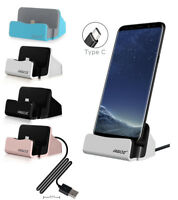 Type-C USB FAST Charger Cell Phone Dock Stand Station Holder For LG Phone