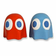 Pac Man Ghost Salt & Pepper Pots Shakers Inky Blinky By Paladone