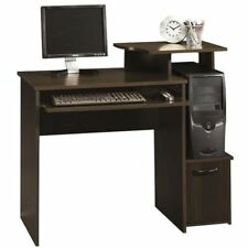 Small Computer Desk Student Dorm Home Office Writing Workstation Cherry Wood