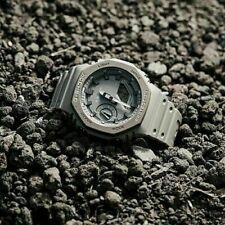 Casio G-Shock Carbon Core Guard Grey CasiOak Resin Watch - GA-2110ET-8 fast ship