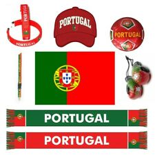 WORLD CUP 2018 PORTUGAL SOCCER FLAGS, SCARVES & ACCESSORIES CHOOSE FROM 10+ ITEM