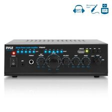 240W COMPACT AUDIO STEREO POWER AMP AMPLIFIER HOME THEATER SYSTEM USB MP3 PLAYER