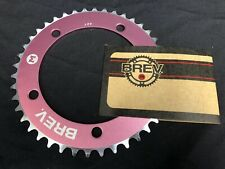 Brev. M Masi Fixie Fixed Gear Chain Ring Sprocket Chain ring 42t Pink 130 BCD