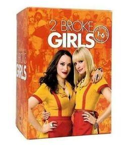 2 Broke Girls The Complete Series Season 1-6 (DVD) FREE SHIPPING AUSTRALIA WIDE!