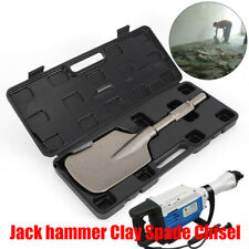 Extra Wide Jack Hammer Scoop Shovel Blade Square Long Series Clay Spade Chisel