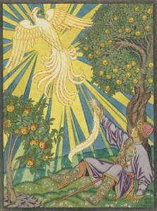 Ivan Bilibin Llustration For Contes De Lisba Giclee Paper Print Poster
