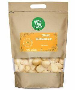 Organic Macadamia Nuts   Raw   GMO Free