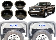 4pc Rear Frame Hole Plugs For 2014-2015 Silverado Sierra New Free Shipping USA