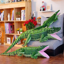 Giant Stuffed Crocodile Plush Toy Soft Big Realike Alligator Animals Doll