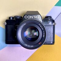 CONTAX 139 QUARTZ 35mm SLR Film CAMERA W/ CARL ZEISS PLANAR 1,7 50mm Lens Lomo