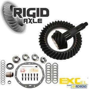 "GM 8.875"" 12 Bolt Car 3.73 THICK Richmond Ring Pinion Gear w/ Master Bearing Kit"