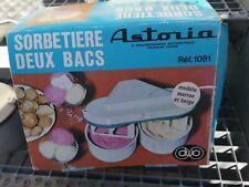 Französische Eismaschine Astoria Sorbetiere