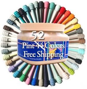 Chalk Furniture Paint 16 Oz Great Cover Paint SALE PRICED! Choose from 52 Colors