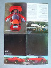 Prospekt Lancia Stratos, ca.1975, 8 Seiten, folder, größer DIN A4 - Original