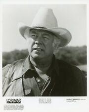 GEORGE KENNEDY PORTRAIT DALLAS TV SHOW ORIGINAL 1988 CBS TV PHOTO