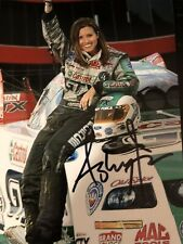 Ashley Force Signed 4x6 photo Autograph Force Racing