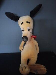 Vintage 1930s Merrythought velvet dog