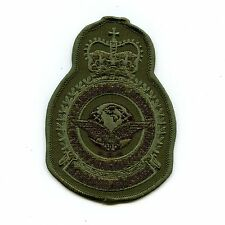 RCAF CAF Canadian 1 Air Division Squadron Heraldic OD Crest Patch