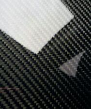 "Carbon Fiber Fiberglass Panel Sheet 6""×54""×1/32"" Glossy One Side"