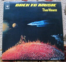 Theo Vaness - Back To Music - CBS 1978 - France - NM