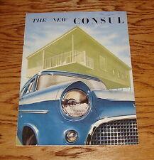 1956 Ford Consul Sales Brochure 56