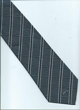 AFL CORPORATE TIE  Supporter Tie AFL collector Blue Silver check