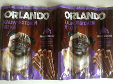 Dog Treats Salami Meat Sticks Chews 8 pieces VEAL like Vitakraft FREE POST, Pug!