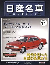 [MODEL+BOOK] Nissan meisha collection vol.11 1/43 Datsun Bluebird 2000 SSS X 910