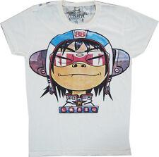 """New Gorillaz """"Noodle"""" Demon Days Rock Band T-shirt size M. (JJ3)"""