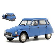 CITROEN DYANE 1974 BLEU MYOSOTIS 1:18 Solido Auto Stradali Die Cast Modellino