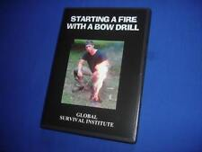 W1 HOW TO START A BOW DRILL FIRE - TENTS KNIVES COMPASS MAP SURVIVAL