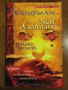 The Sandman Vol. 1: Preludes & Nocturnes (New Edition) by Neil Gaiman DC COMICS