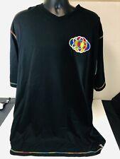 COOGI Embroider Shirt XXL Black RAINBOW h14